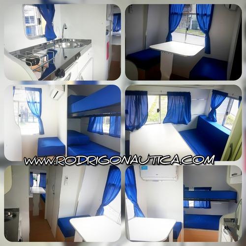 casa rodante doble eje equipada full para 5 personal 2020