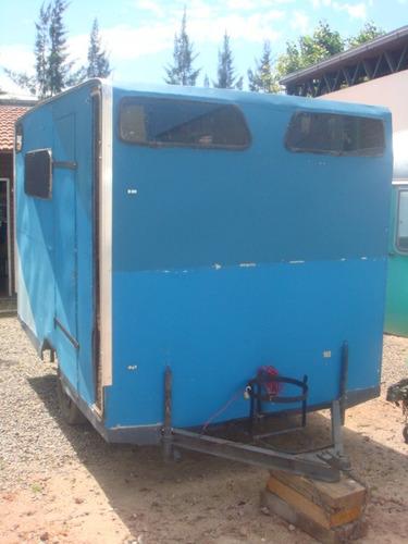 casa rodante ideal obrador de 3mts con equipamiento para 4