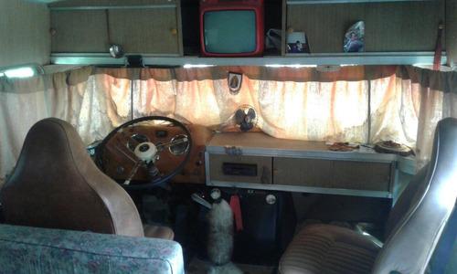 casa rodante mercedes benz 1112 1966 autoportante unico dño