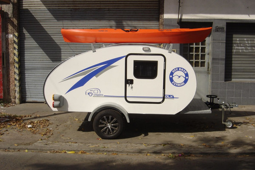 casa rodante, mini casa rodante para 2 personas.