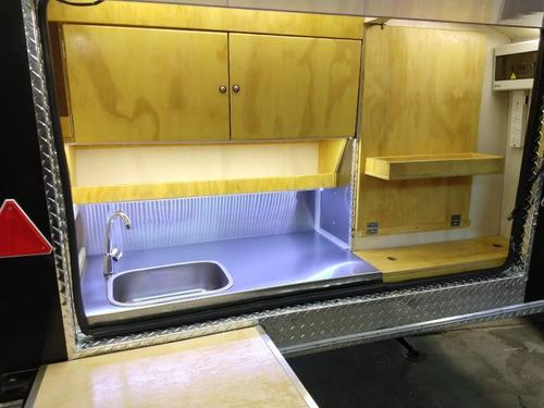 casa rodante mini en fibra de vidrio teardrop homologada