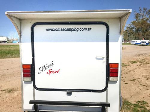casa rodante mini sport 240 | lomas camping - luis guillón