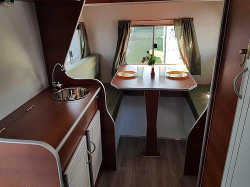 casa rodante modelo 310 para 4 personas lomas camping ronik