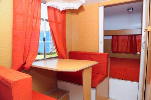 casa rodante - modelo 450 - lomas camping - cañuelas