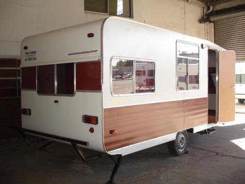 casa rodante modelo 450 panoramica lomas camping