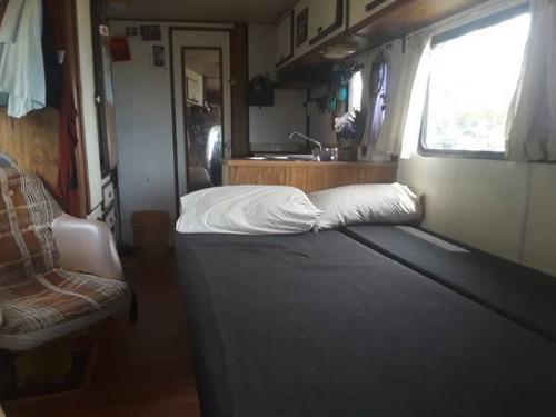 casa rodante, motorhome, camper, chevyvan '82