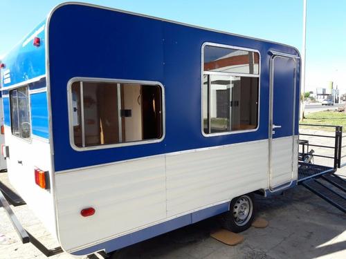 casa rodante para llevar cuatriciclos - lomas camping