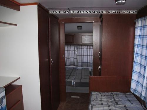 casa rodante patagonica full baño ducha heladera inodoro