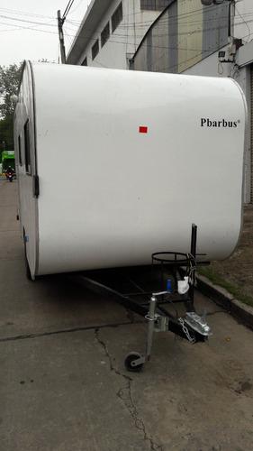 casa rodante pbarbus 410 unico dueño muy poco uso año 2017