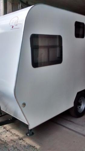 casa rodante pbarbus modelo 4,90 o km doble eje balancin