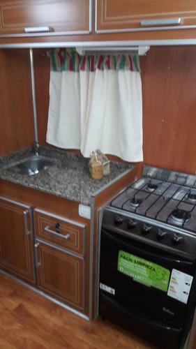 casa rodante san nicolas - 6mts doble eje balancín