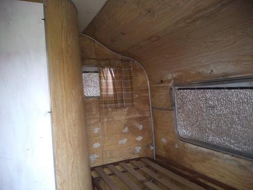 casa rodante usada de aluminio ideal para obrador o sereno