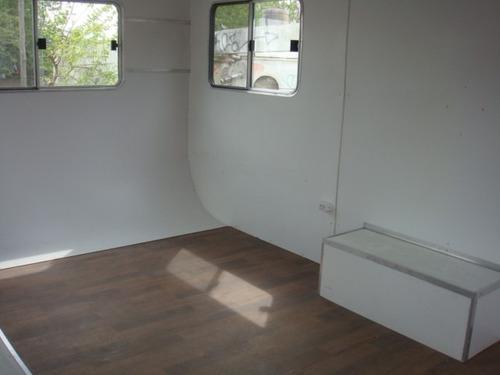 casa rodante vacia ideal obrador nueva a estrenar de 4mts