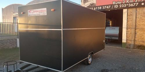casa rodantes brandsen.trailer gast/acero 4,00 mts 0km 2020