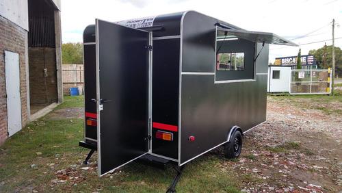 casa rodantes brandsen.trailer gastronom 4,00 mts 0km 2021