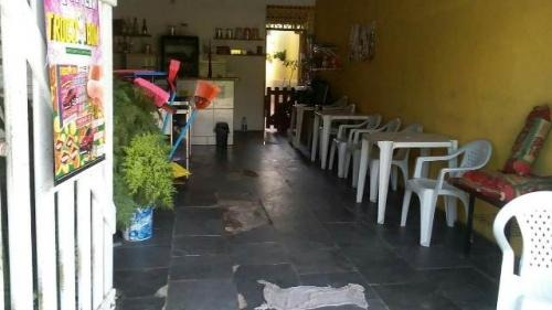 casa + salão comercial! em itanhaém! com 02 quartos. visite!