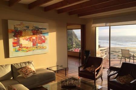 casa santo domingo, 250 m2, vista playa, 3 dormitorios+servi