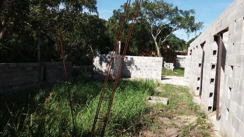 casa semi acabada, 800 metros da rodovia, ref. 0012 l c