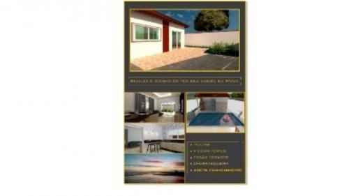 casa semi-acabada c/ 4 dorm., leia a descrição! ref 4072-p