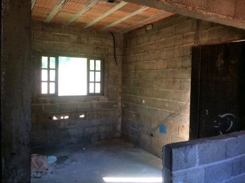 casa semi-acabada c/4 dormitórios na praia, itanhaém-sp!!!