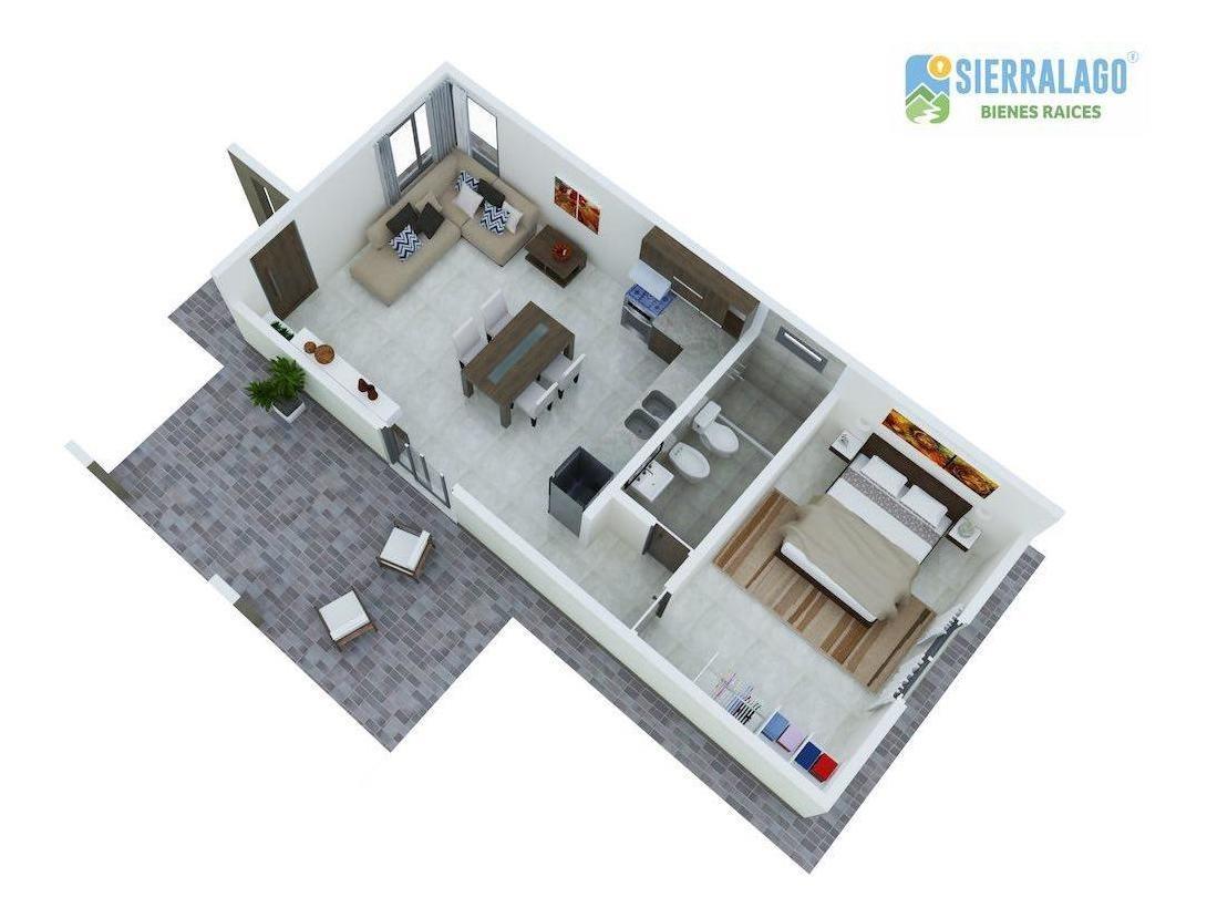 casa serrana de 1 dormitorio - punilla