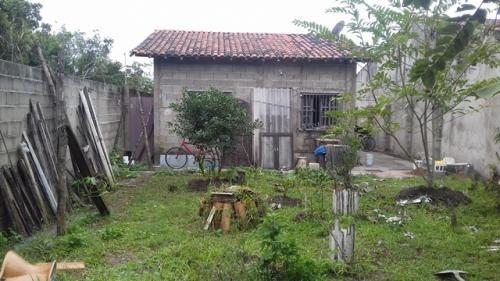 casa simples baratinha 500 metros do mar, itanhaém ref 2193