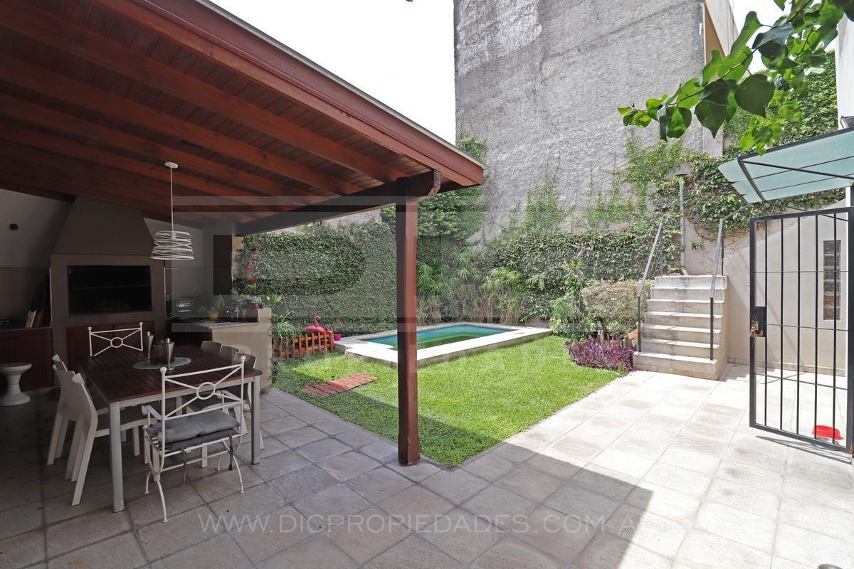 casa s/lote propio, 4 amb, piscina, garage - villa martelli