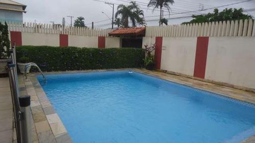 casa sobrado, 3 dorms, com piscina, perto da praia