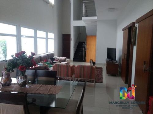 casa sobrado em condomínio com 4 quartos no alphaville 2 - 746813-v