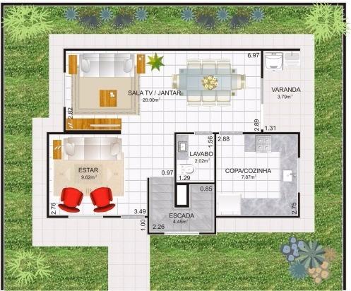 Casa Sobrado Em Steel Frame De 115m² Promoção 100 Ecologico
