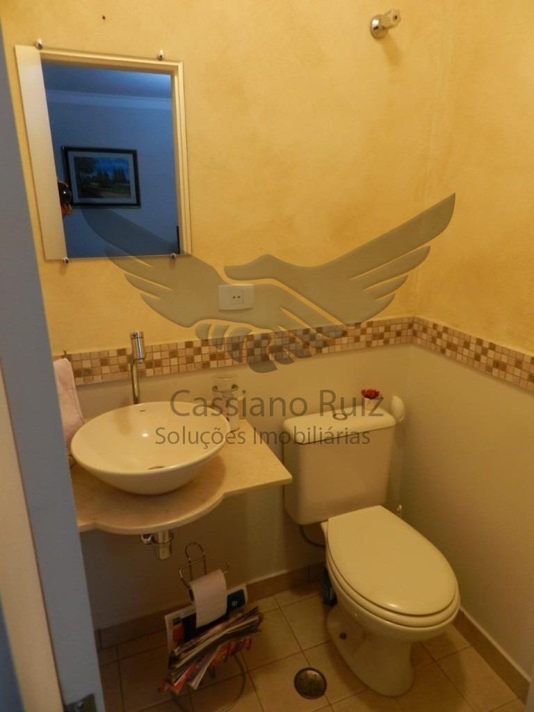 casa sobrado no residencial são paulo - além ponte ponte - sorocaba - 04 dorm ( sendo 01 suíte com hidro)/ lavabo/ espaço gourmet/ jardim/ o2 vagas - 1000209 - 34895650