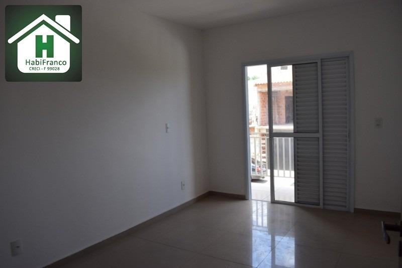 casa sobrado nova, pronta para morar. 3 quartos, 2 vagas. financiamento caixa - fgts - ca00032 - 32511485