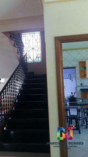 casa sobrado padrão com 4 quartos - 73487-v