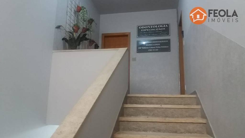 casa sobreloja com 2 dormitórios para alugar, 90 m² por r$ 1.700/mês - centro - americana/sp - ca0587