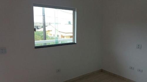 casa sobreposta nova em itanhaém, 1200 mt do mar