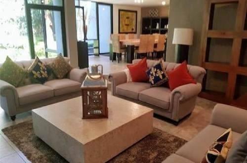 casa sola contemporanea 432 m2 c y 730 m2 t con 4 recamaras