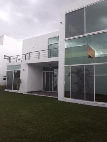 casa sola en junto al río / temixco - mrl-702-cc*