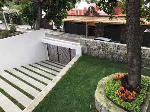 casa sola en manantiales / cuernavaca - roq-284-cs