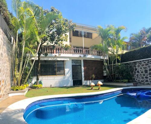 casa sola en vista hermosa / cuernavaca - via-334-cs