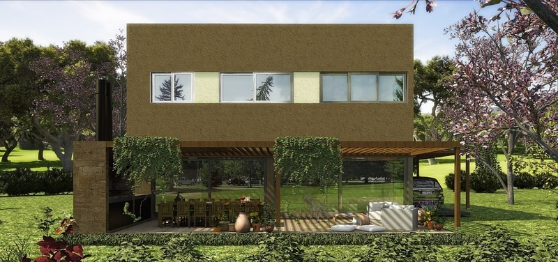 casa sustentable en venta-acacias puertos del lago escobar