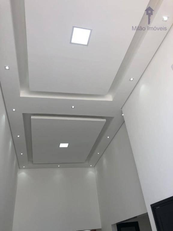 casa térrea 2 dormitórios à venda, 200m², residencial villagio milano em sorocaba/sp - ca0362