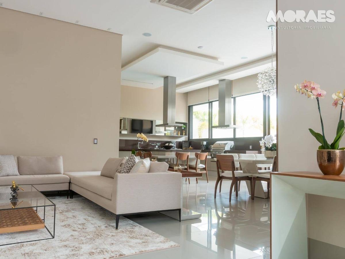 casa térrea alto padrão com 3 suítes à venda, 675 m² por r$ 3.000.000 - residencial lago sul - bauru/sp - ca1439