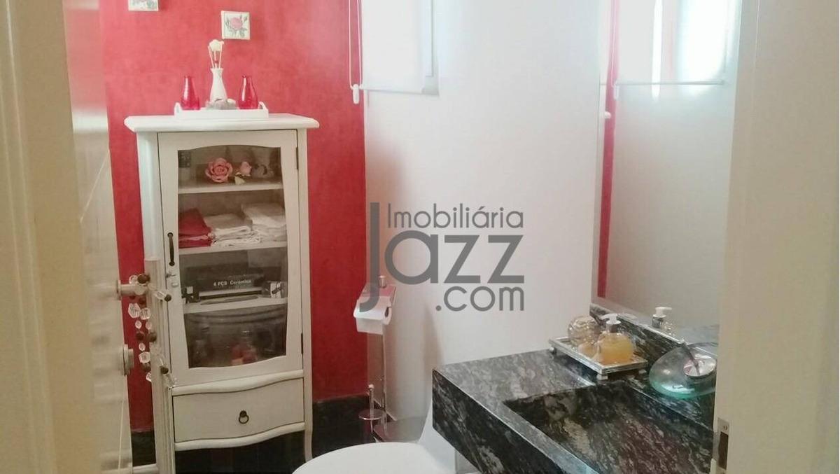 casa térrea com 3 dormitórios à venda, 320 m² por r$ 1.780.000 ótima localização- valinhos/sp - ca5403