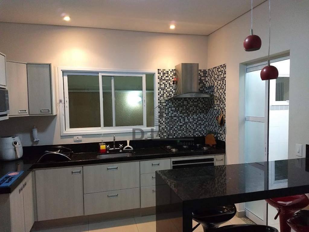 casa térrea com 3 suítes à venda, 180 m² por r$ 860.000 - reserva real - paulínia/são paulo - ca13361