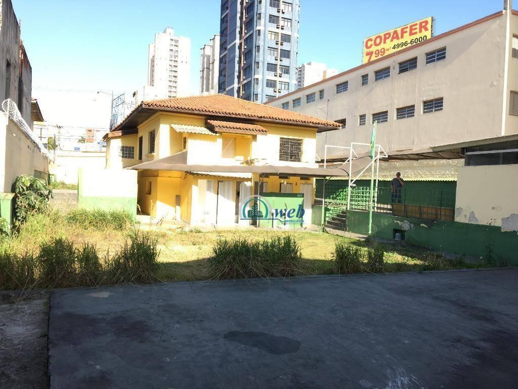 casa térrea com 400 m² a/c e 900 m² de terreno - santo andré/sp - ca0109