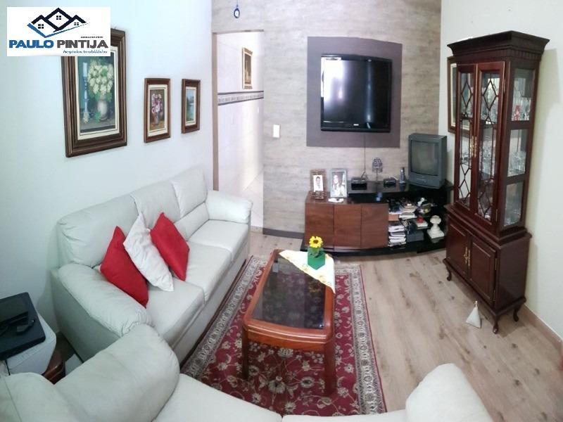 casa terrea com excelente acabamento, 3 dorm, 1 st, vila castelo branco - ca04018 - 32488800