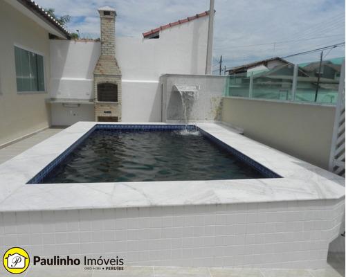 casa térrea com piscina a venda ou locação na praia de peruíbe - ca03088 - 33554153