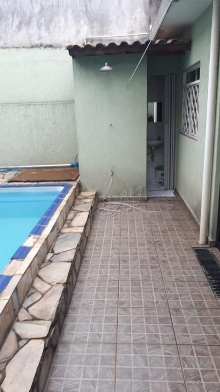 casa térrea com piscina - pauliceia - são bernardo do campo/sp - ca3745