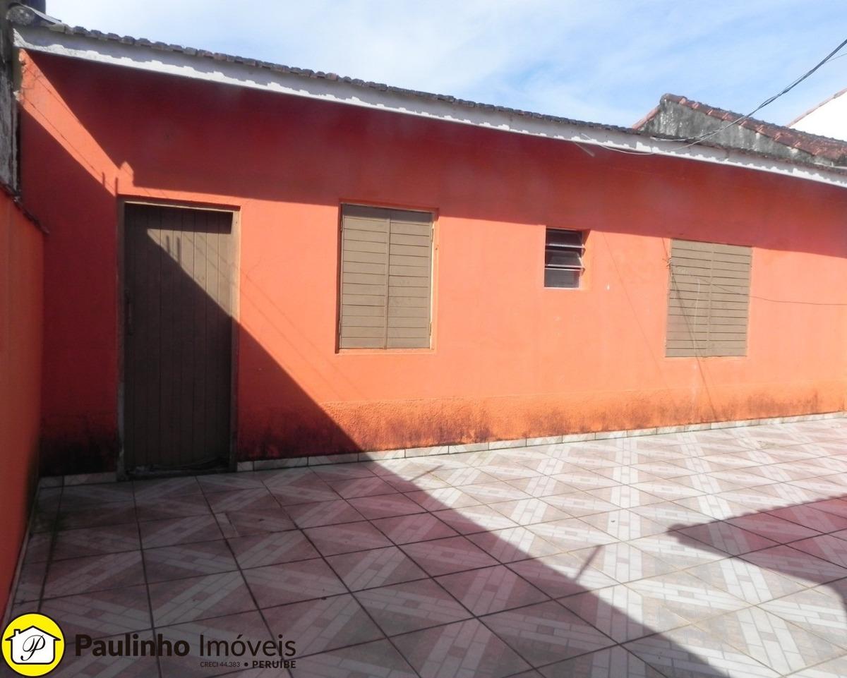 casa térrea e isolada a venda próxima a praia em peruíbe. - ca03317 - 34609103