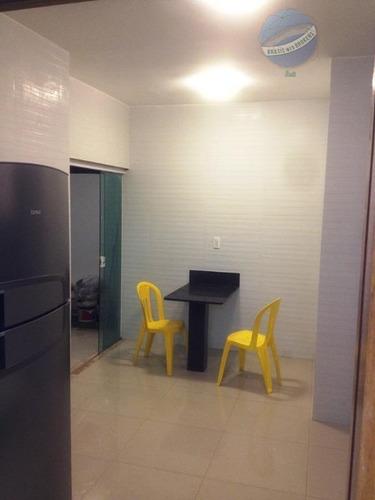 casa térrea em condomínio fechado, com 3 suítes - central park i - ca0074